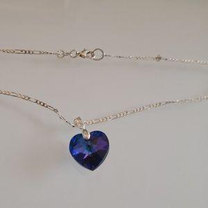Necklace. Swarovski Crystal Elements.